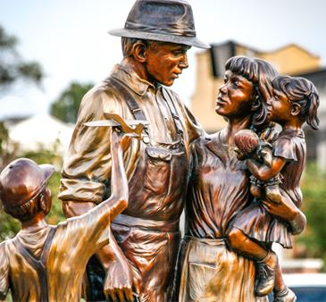 Family Statue